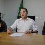 Governador anunciando a data de pagamento do mês de junho para o funcionalismo, já com a implantação do reajuste