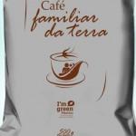 Café Familiar da Terra Frente utiliza a embalagem ecologicamente correta