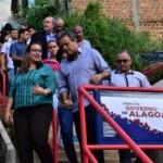 Governo do Estado apresenta as escadarias, as pontes e outras pequenas obras realizadas nas comunidades carentes à comitiva da ONU