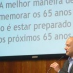 Presidente do Banco do Nordeste, Marcos Hollanda, na abertura do Fórum