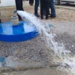 Nascentes e poços estão sendo preservados para levar mais água para as comunidades