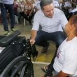 Renan Filho sempre com um olhar de atenção para com os portadores de deficiência