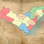 Mapa de Alagoas, o registro da história
