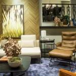 Bom gosto, comodidade e requinte dos móveis predominam nos ambientes internos