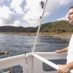 Governador Renan Filho, em viagem de Piranhas até a Penedo, em viagem denominada 'Nata Rota dos 200 Anos'