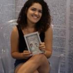 Estudante de jornalismo Marta Moura é destaque pela terceira vez consecutiva na Bienal do Livro