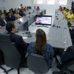 Governador Renan Filho, representantes da ONU, secretários de Estado e comunidade participaram da inauguração do escritório da ONU em Maceió