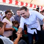 Renan Filho durante ações do 8º Governo Presente em Piranhas