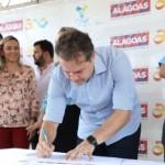 Governador Renan Filho assina ordem de serviço em Passo de Camaragibe