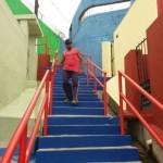 Moradores das grotas de Maceió estão tendo melhoria na mobilidade