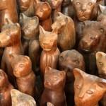 Artesanato em peças de madeira mostra a diversificação e a riqueza da cultura regional