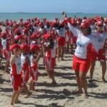 Projeto Golfinho leva atividade recreativa, alegria e cidadania à criançada