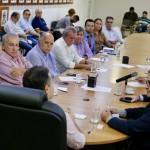 Representantes de diversas entidades do setor canavieiro compareceram à reunião com o governador Renan Filho, no Palácio Zumbi dos Palmares