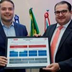 Governador Renan Filho e secretário da Fazenda George Santoro trabalham em sintonia