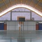 Novo ginásio poliesportivo no bairro de Trapiche