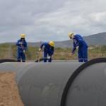Centenas de alagoanos trabalham no canteiro de obras do Canal do Sertão