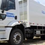 Caminhões coletores de lixo