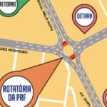 Novo trânsito vai facilitar a mobilidade próximo do viaduto da PRF