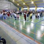 Ginásio de Esportes inaugurado pelo governador Renan Filho e a comunidade