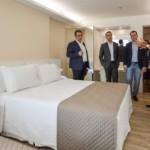 Empresariado apresenta modernos e confortáveis apartamentos do Hotel Brisa Suítes