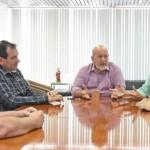 Presidente da Fiea, José Carlos Lyra, da Faeal, Álvaro Almeida e do Fecomércio, Wiilton Malta, se unem em busca de promoção de debates  para ouvir os candidatos a governador