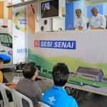 Enel expôs no trailler clínica tecnológica gastronômica onde mostrou ao público os sabores derivados de leite