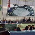Consultora da ANAMMA Mariana de Oliveira debate em audiência pública no plenário da Assembleia Legislativa