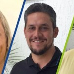 Lisiane, Rodrigo e Gustavo, agora, no time de líderes da Auster Nutrição Animal