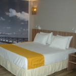 Quarto do hotel oferecerá inovação, conforto, comodidade e tranquilidade
