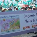 Trabalhadores unidos na Marcha da Margarida
