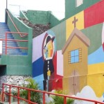 Reestruturação das grotas com novas obras e pinturas dá nova vida às comunidades