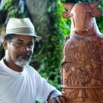 """Mestre João das Alagoas terá sua obra """"Boi Bumbá"""" instalada na orla de Maceió"""