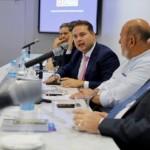 Governador Renan Filho anuncia investimentos para o Estado ao lado do presidente da Fiea, José Carlos Lyra