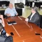 Presidente da Fiea, José Carlos Lyra, em reunião com o superintendente do BB em Alagoas, Cássio Benedito Daltoé e sua equipe