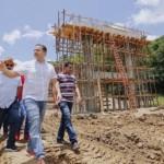 Governador Renan Filho visita obras em Rio Largo