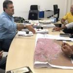 Reunião entre Sedet e SMTT decidem mudanças de trânsito durante obras na orla lagunar