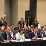 Governador Renan Filho discursa ao lado dos demais governadores em Brasília