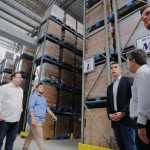 Vice-governador Luciano Barbosa e secretário Rafael Brito prestigiam inauguração do CD da Ajinomoto