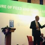 Leo den Hartog, diretor de P&D do Grupo Nutreco e professor de nutrição animal da Universidade de Wageningen, destacou no 6º Congresso Global de Alimentação e Alimentos em Bangkok, Tailândia