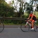 Ciclismo é uma das provas do triatlo