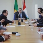 Governador e secretários se reuniram com representantes da instituição financeira internacional com foco na educação, saúde e segurança pública