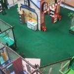 Diversão para a garotada no Parque Shopping