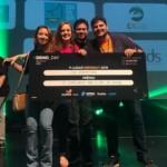 A premiação foi uma viagem para o maior evento de tecnologia e inovação do mundo em São Francisco, na Califórnia