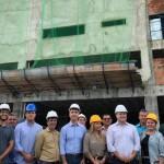 Governador Renan Filho, secretários e empresários do turismo visitam a obra de ampliação do Centro de Convenções