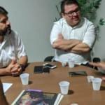 Reunião da diretoria da CPLA com o secretário de Desenvolvimento e Assistência Social , João Lessa