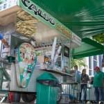 Cláudio Ferreira, vencedor do Programa Crediamigo, hoje incrementou a renda com a comercialização de caldo de cana no comércio maceioense