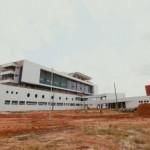 Construção do mais novo hospital do Estado de Alagoas, na Via Expressa
