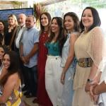 Presidente da Fiea, José Carlos Lyra, parabenizando os integrantes e fundadoras do Coletivo Alagoas
