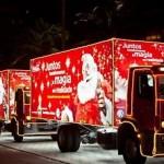 Caminhões do Natal estão chegando