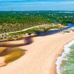 Costa dos Coqueiros, no litoral norte, da Bahia